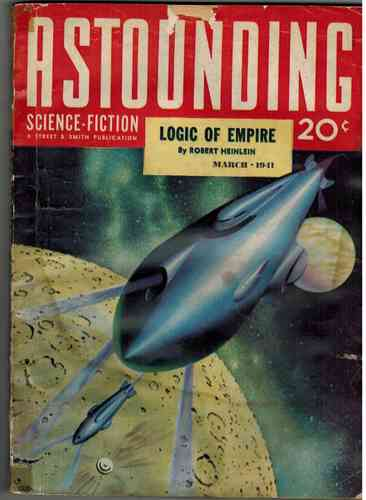 Astounding Science Fiction March 1941