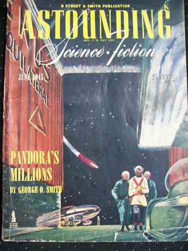 Astounding Science Fiction June 1945