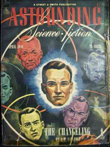Astounding Science Fiction April 1944